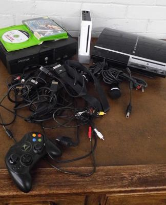 Xbox original W/O and PS3 and Wii