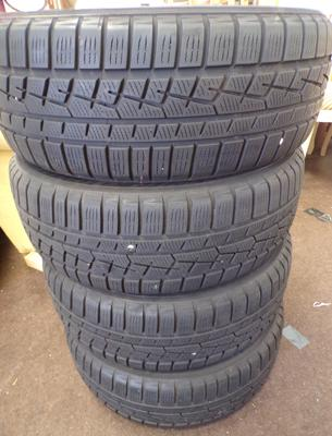 4x 195/55 R16 tyres-like new