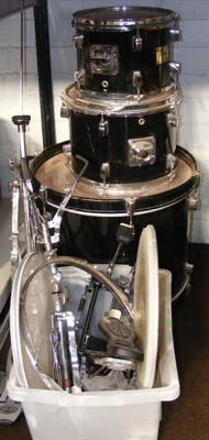 Stagg drum kit (as seen)