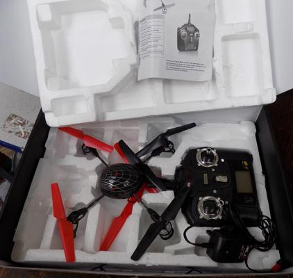 Quadcopter flying machine