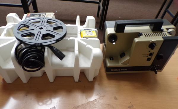 Eumig 8mm projector & accessories