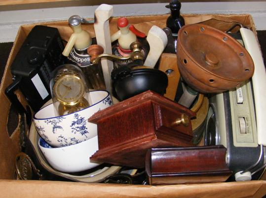 Large box of mixed collectables