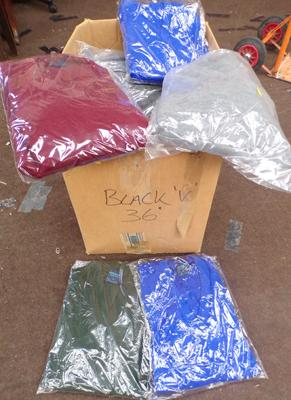 Box of 24 new acrylic jumpers-mixed styles/colours