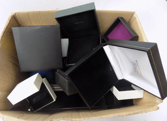 Selection of jewellery boxes