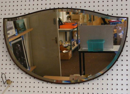 Vintage wall hanging mirror