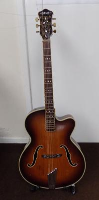 1958 Hofner compensator guitar - as seen