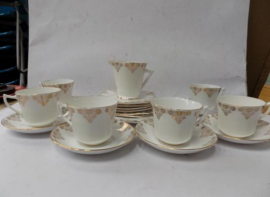 Phoenix bone china sandwich set
