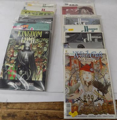 Assortment of late 20th century unopened collectors adult comics; Witch Craft- House of Secrets (20)