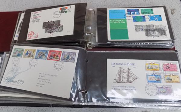 2 folders of First Day covers