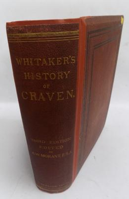 Whitakers 'History  of Craven' 3rd edition 1878 - very rare