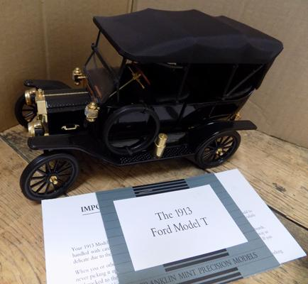 1913 Ford model T with paperwork - no box