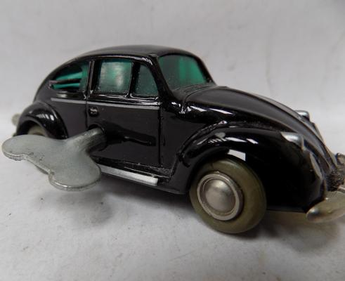 Vintage Schueco no. 1046 Volkswagon, C1950's mint condition - clockwork and key