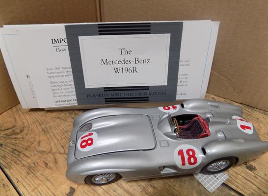 Mercedes Benz W196R with paperwork - no box