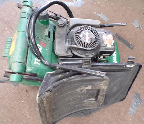 Qualcast petrol mower Turbo40