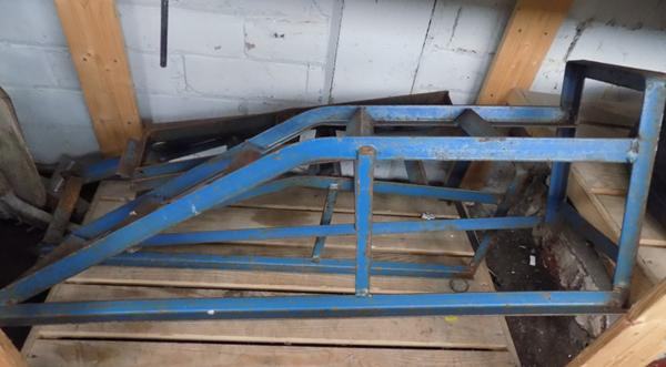 Pair of metal car ramps