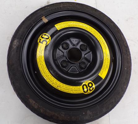 Space saver spare wheel (from a Mini) T105/70/R14