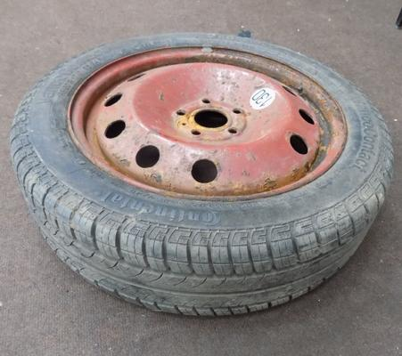 Transit tyre 185 x 17 - on wheel
