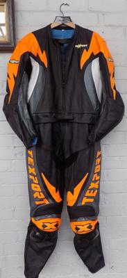 Set of motorcycle leathers size 58