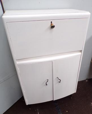 Vintage retro kitchen storage unit