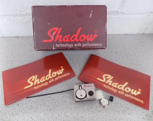 Shadow technology acoustic and classic guitar pickup with pre-amp