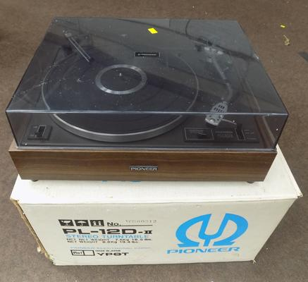 Pioneer record player - great condition