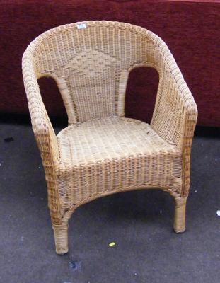 Wicker conservatory/ bedroom chair