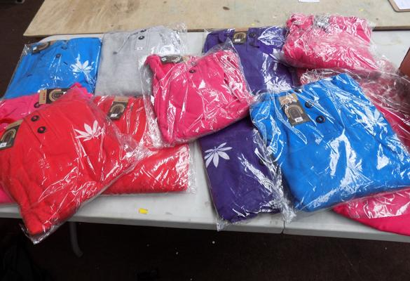 12x New hoodies-various sizes