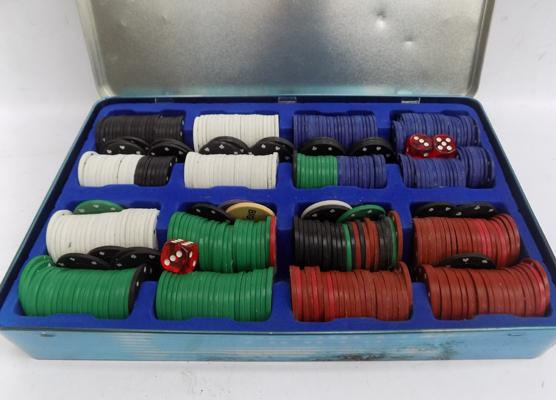 Poker gaming chips