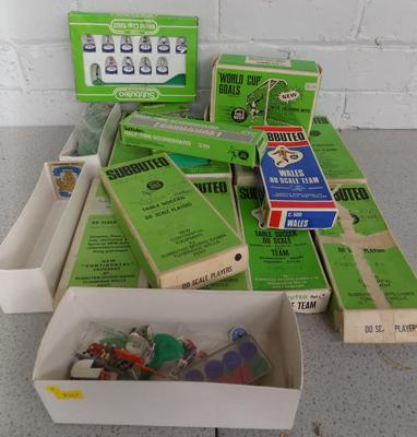 Assortment of Subbuteo sets - some complete, some spares