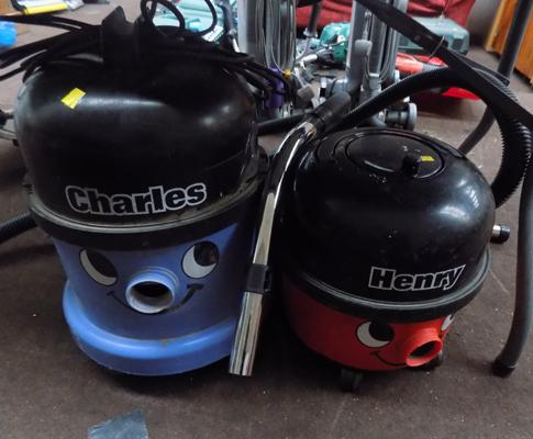 Henry hoover and a Charles hoover - as seen