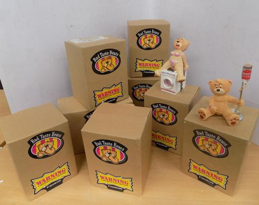 8 x Boxed Bad Taste Bears