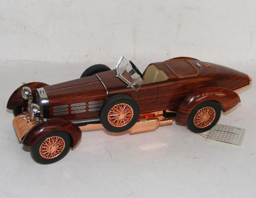 Franklin Mint 1924 Hispano-Suiza Tulipwood (no box or certificate)