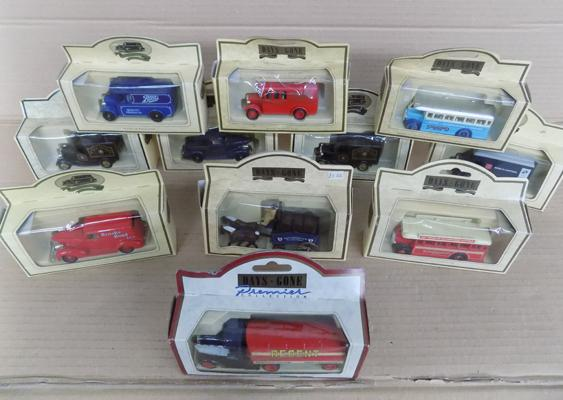 Assortment of Days Gone boxed cars x 11