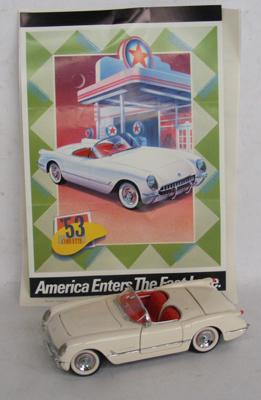 Franklin Mint 1953 Corvette with certificate, no box