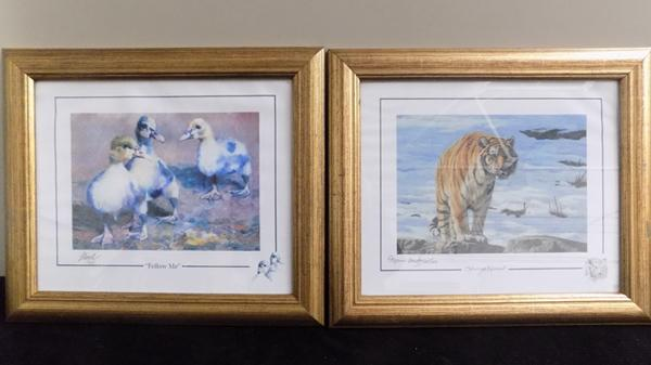 Pair of limited edition signed prints - Stephen Gayford (603/1100) & Noel Gregory (17/850)