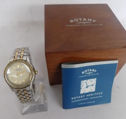 Rotary watch, boxed