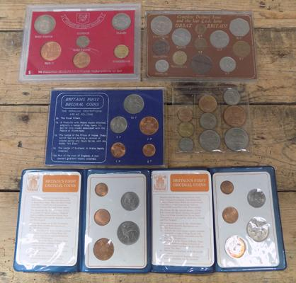 6x coin sets