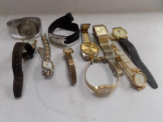 Collection of ladies and gent's watches