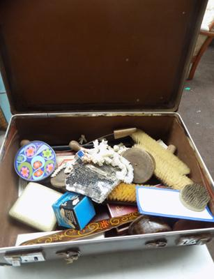 Suitcase of collectables