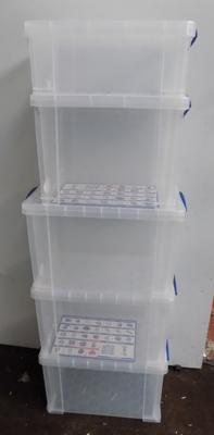 5 really useful storage boxes - some damage