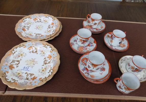 Selection of Chinese cups and plates