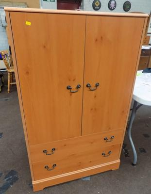 Clothes storage unit, 50 inches tall