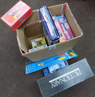 Box of family games