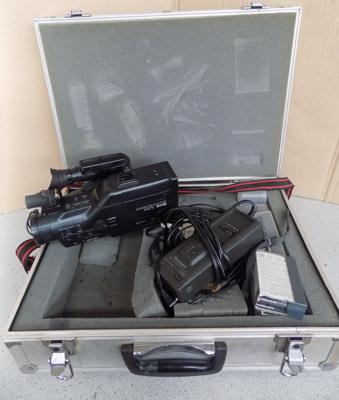 Panasonic MS70 camcorder in case, with battery