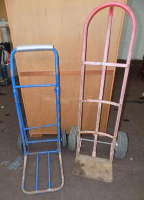 Two sack carts