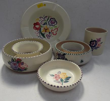 Collection of Poole pottery - 5 piece