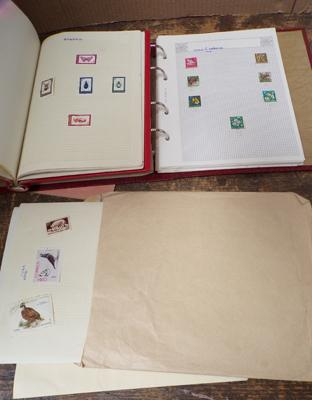 Stamp albums & stamps