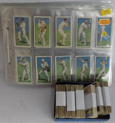 Collection of mixed cigarette cards