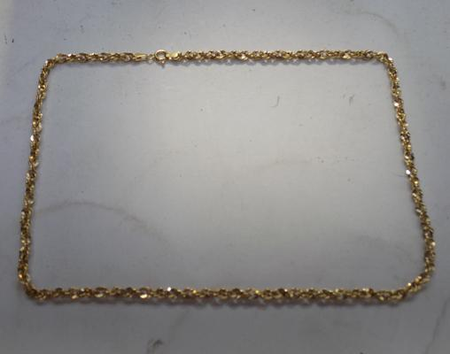9ct gold link chain