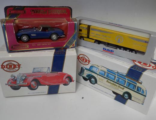 Collection of dinky cars and others